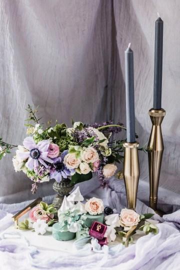 Sparkling Art Deco Wedding Inspiration From NYC | Mibellarosa | Jenny Fu Studio 2