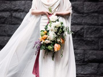 Sparkling Art Deco Wedding Inspiration From NYC | Mibellarosa | Jenny Fu Studio 36