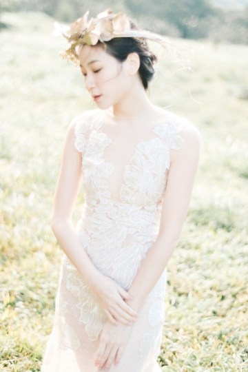 Whimsical Meadow Wedding Inspiration With Dried Florals   Olea & Fig Studio   The Stage Photography 16