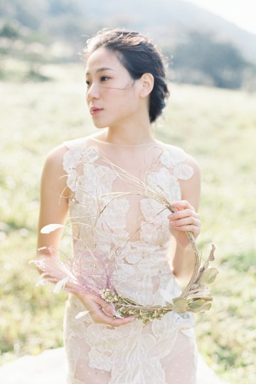 Whimsical Meadow Wedding Inspiration With Dried Florals   Olea & Fig Studio   The Stage Photography 19