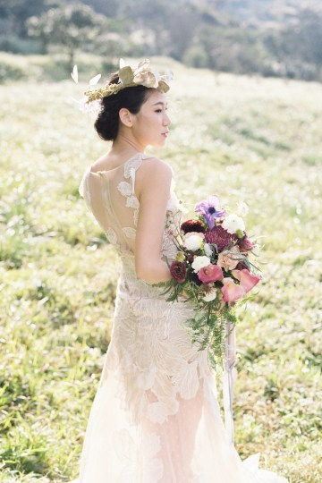 Whimsical Meadow Wedding Inspiration With Dried Florals   Olea & Fig Studio   The Stage Photography 20