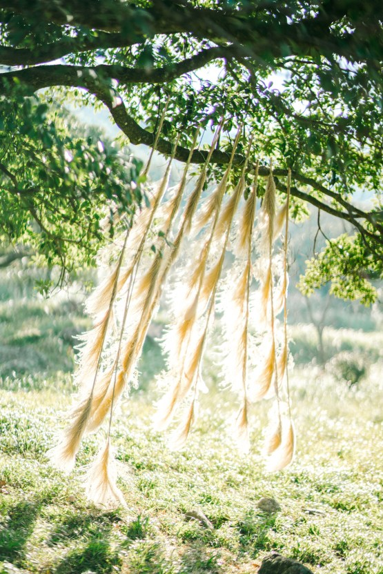 Whimsical Meadow Wedding Inspiration With Dried Florals | Olea & Fig Studio | The Stage Photography 22
