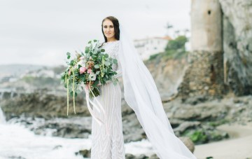 A Fashion Blogger's Stylish & Intimate Yacht Wedding