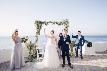Delightfully Pretty & Wildy Fun Greek Destination Wedding | Penelope Photography 40