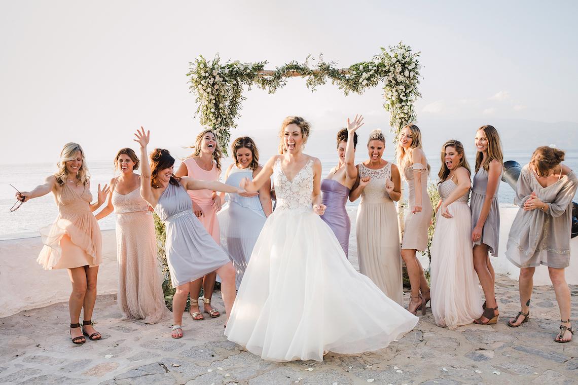 Delightfully Pretty & Wildy Fun Greek Destination Wedding | Penelope Photography 43