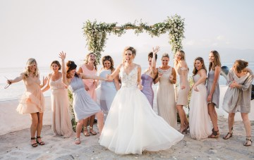 Delightfully Pretty & Wildly Fun Greek Destination Wedding