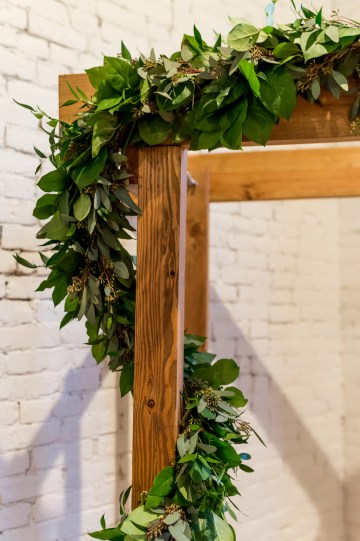 Literary Chic Loft Wedding (With A Harry Potter Cake!)   Brio Photography 1
