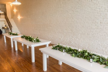 Literary Chic Loft Wedding (With A Harry Potter Cake!)   Brio Photography 14