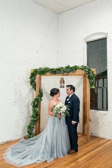Literary Chic Loft Wedding (With A Harry Potter Cake!)   Brio Photography 7