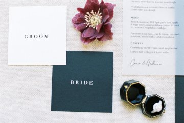 Luxurious Coco Chanel Inspired Wedding Ideas | Bowtie & Belle Photography 34