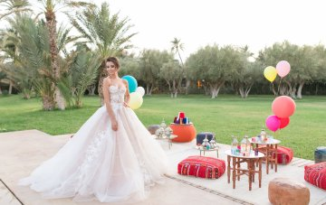 Regal & Colorful Moroccan Palace Wedding Inspiration
