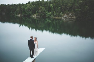 Relaxed & Woodsy Swedish Island Wedding | Sara Kollberg 20