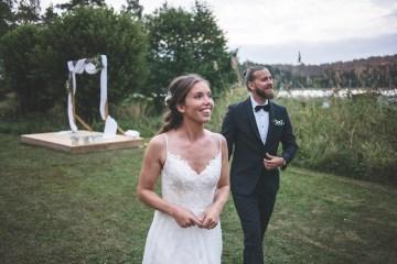Relaxed & Woodsy Swedish Island Wedding | Sara Kollberg 25