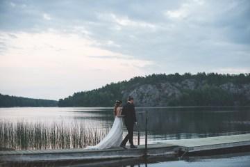 Relaxed & Woodsy Swedish Island Wedding | Sara Kollberg 26