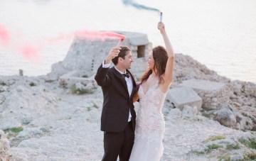 Dramatic & Luxurious Capri Destination Wedding