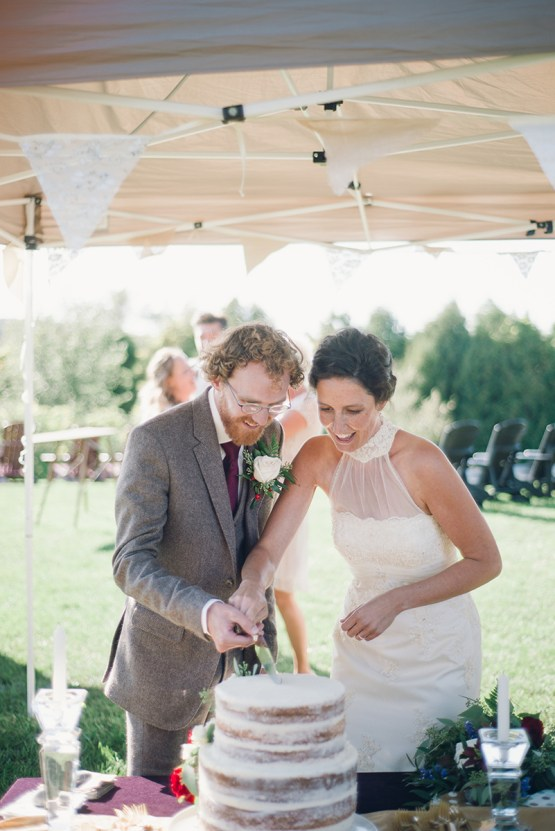 Rustic Orchard Wedding (With The Most Generous Guests)   Alabaster Jar Photography 22