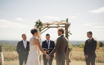 Rustic Orchard Wedding (With The Most Generous Guests)