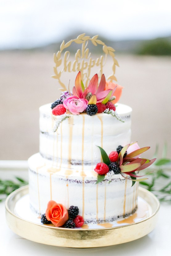 Summer Berry Wedding Ideas From The Hill Country   Jessica Chole 52