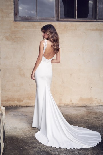 The Romantic & Sparkling Anna Campbell Wanderlust Wedding Dress Collection | Jamie Dress (Crepe de Chine)-3