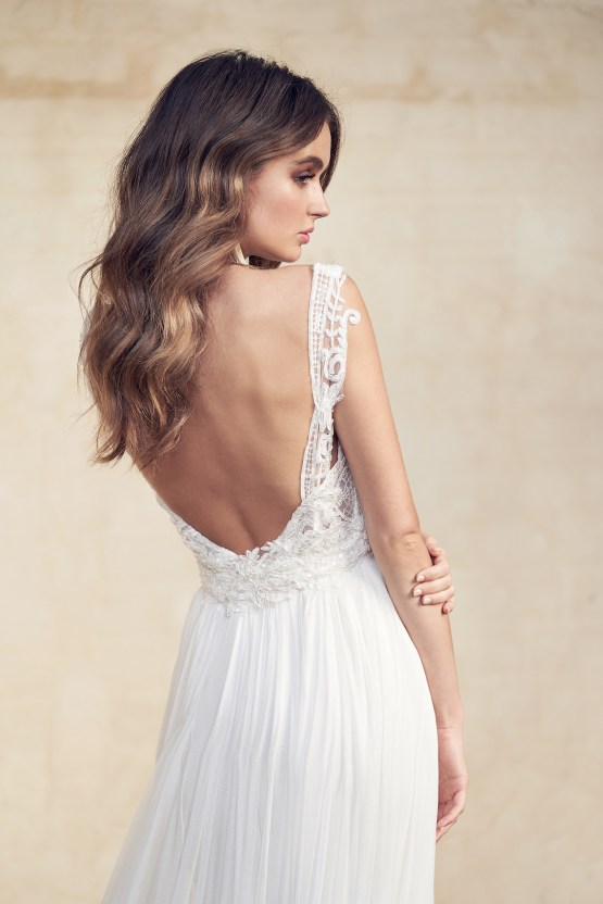 The Romantic & Sparkling Anna Campbell Wanderlust Wedding Dress Collection | Jamie Dress (Silk Tulle)-2