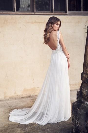 The Romantic & Sparkling Anna Campbell Wanderlust Wedding Dress Collection | Jamie Dress (Silk Tulle)-3