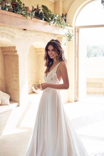 The Romantic & Sparkling Anna Campbell Wanderlust Wedding Dress Collection | Jamie Dress (Summer Skirt)-4