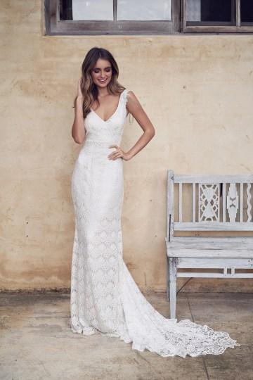 The Romantic & Sparkling Anna Campbell Wanderlust Wedding Dress Collection | Sasha Dress-3