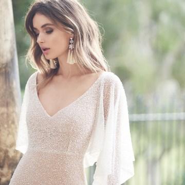 Wanda Dress (Draped Sleeve)-1