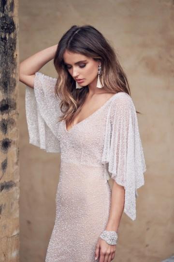 Wanda Dress (Draped Sleeve)-2