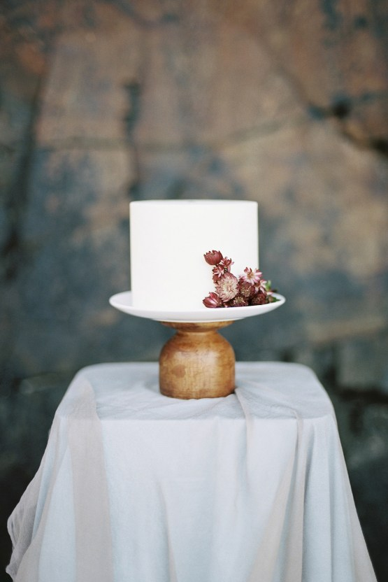 Artistic Burgundy & Fig Beach Wedding Inspiration | Rosencrown Photography 26