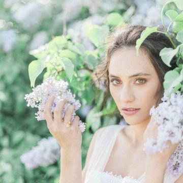 Beltane Goddess Bridal Inspiration With Lilacs And Horses – Gabriela Jarkovska 21