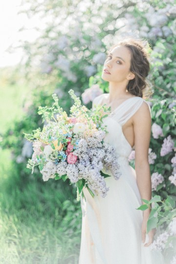 Beltane Goddess Bridal Inspiration With Lilacs And Horses – Gabriela Jarkovska 28
