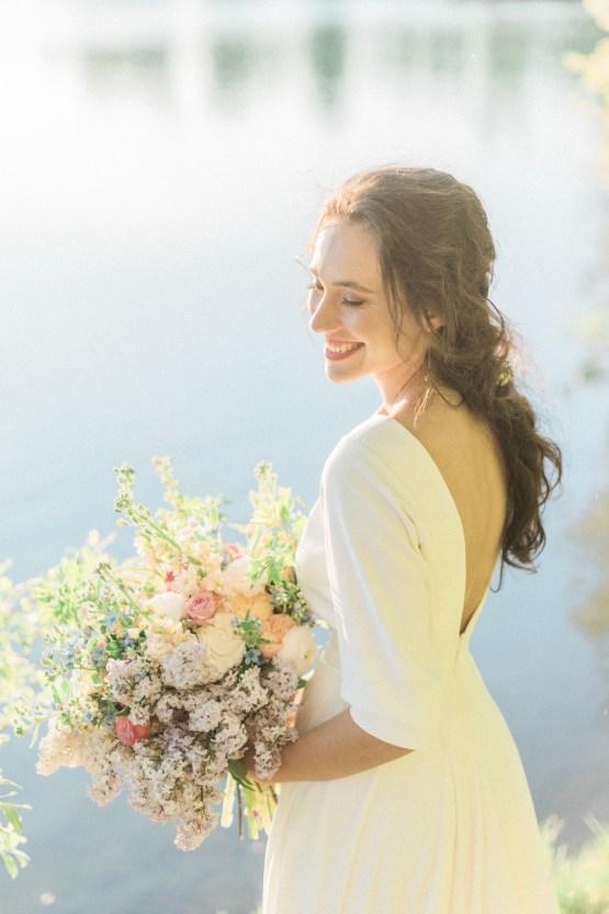 Beltane Goddess Bridal Inspiration With Lilacs And Horses – Gabriela Jarkovska 39
