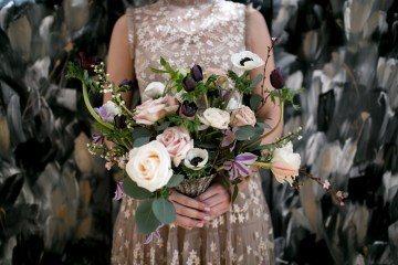 Celestial Ballerina Meets Art Gallery Wedding Inspiration   Alleksana Photography 3