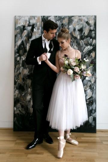 Celestial Ballerina Meets Art Gallery Wedding Inspiration   Alleksana Photography 47