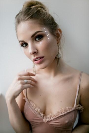 Celestial Ballerina Meets Art Gallery Wedding Inspiration   Alleksana Photography 55