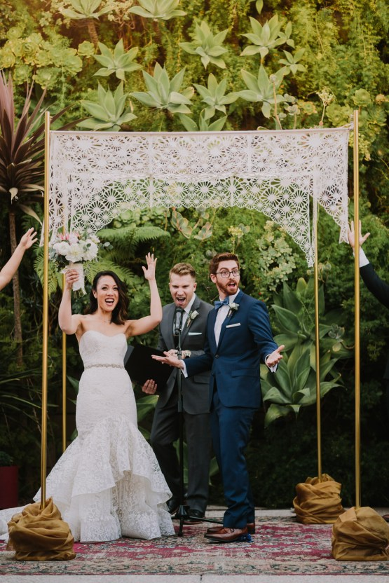 Cool Urban LA SmogShoppe Wedding | Lets Frolic Together 45