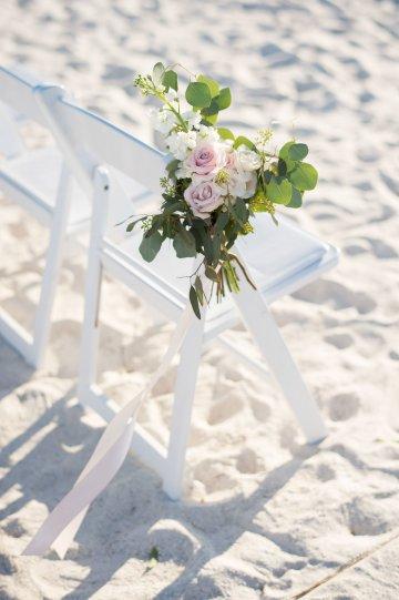 Elegant Pretty Pink Beach Wedding | Stephanie Smith 39