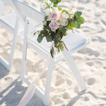 Elegant Pretty Pink Beach Wedding | Stephanie Smith 39