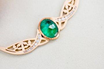 Emerald Green Elopement Inspiration – CMSours Photography 12