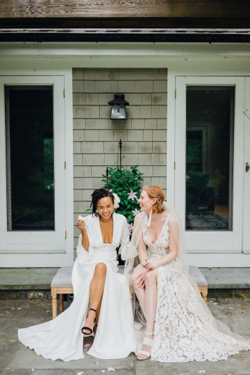 High Style; Luxurious Weed Wedding Ideas | Claire Eliza | High Herstory | Sarah Seven 22