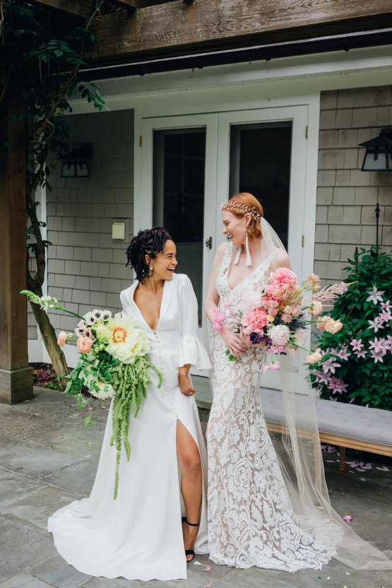 High Style; Luxurious Weed Wedding Ideas | Claire Eliza | High Herstory | Sarah Seven 34