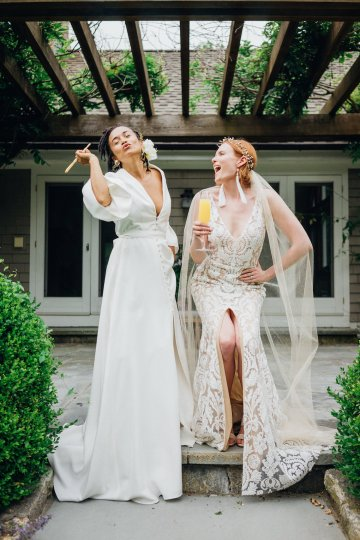 High Style; Luxurious Weed Wedding Ideas | Claire Eliza | High Herstory | Sarah Seven 38