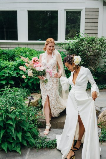 High Style; Luxurious Weed Wedding Ideas | Claire Eliza | High Herstory | Sarah Seven 45