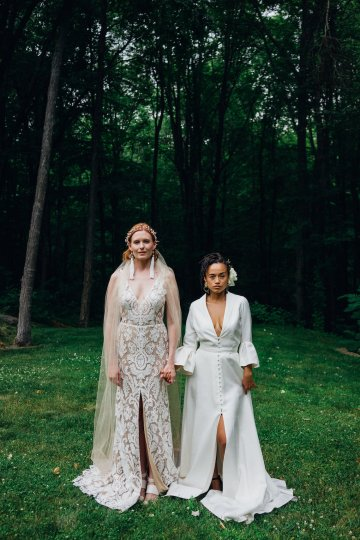 High Style; Luxurious Weed Wedding Ideas | Claire Eliza | High Herstory | Sarah Seven 65