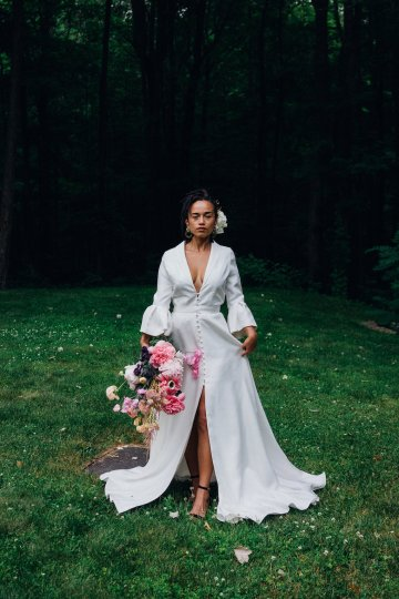 High Style; Luxurious Weed Wedding Ideas | Claire Eliza | High Herstory | Sarah Seven 66