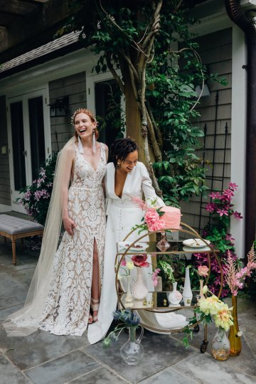 High Style; Luxurious Weed Wedding Ideas | Claire Eliza | High Herstory | Sarah Seven 80