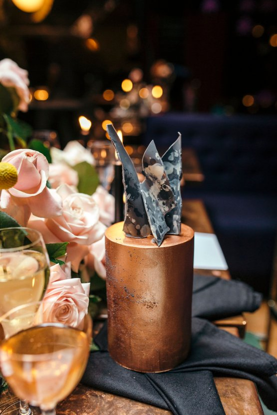 Industrial Copper Cocktail Bar Groom Inspiration | Joasis Photography | ByChenai 40
