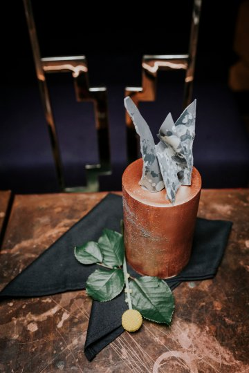 Industrial Copper Cocktail Bar Groom Inspiration | Joasis Photography | ByChenai 45