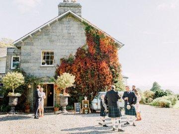 Intimate & Idyllic Wales Country House Wedding | Heledd Roberts Photography 49